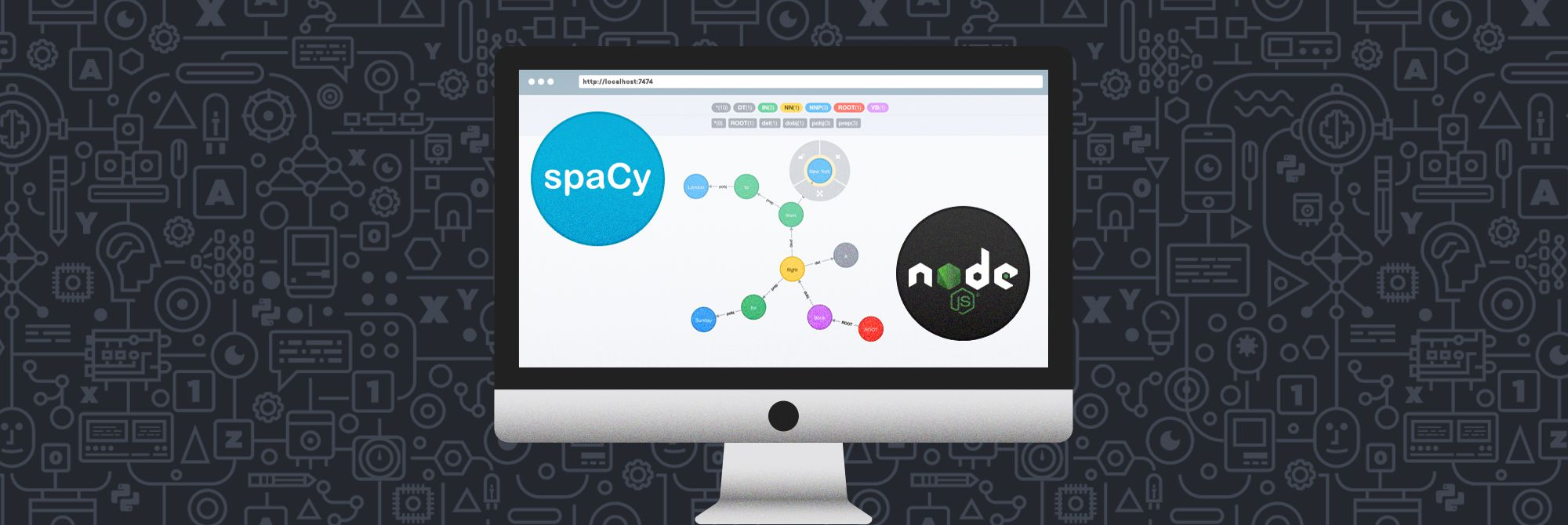 Building your bot's brain with Node.js and spaCy · Blog · Explosion
