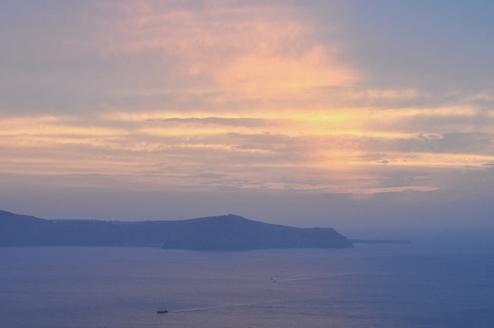 Greetings from Fira, Santorini