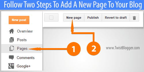 Create-a-New-Page-on-Blogger-Blog