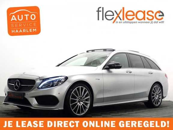 Mercedes-Benz C-Klasse Estate 43 AMG 4MATIC 368pk Designo 9G- Pano , Leer, Head-up, Burmester, Full!