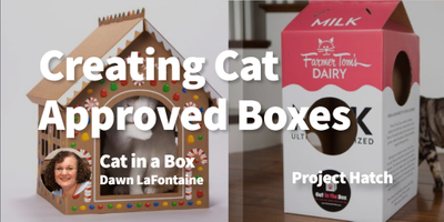 featured image thumbnail for post Creating (Cat Approved) Cardboard Boxes For Endless Fun