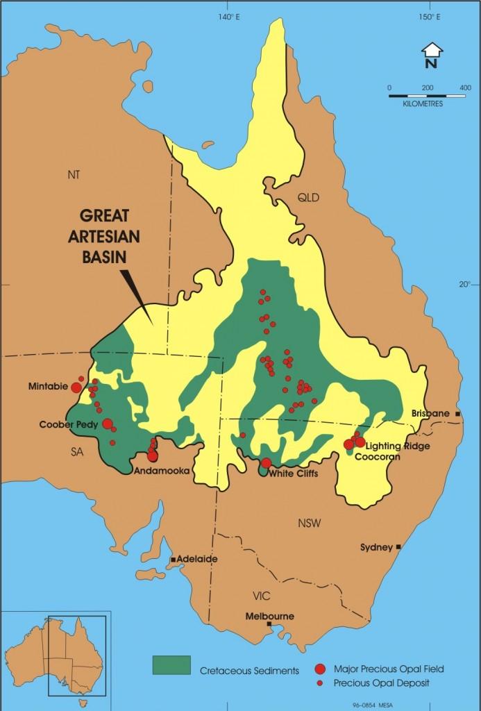 Australian Opal Fields