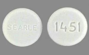 image of circular cytotec pill