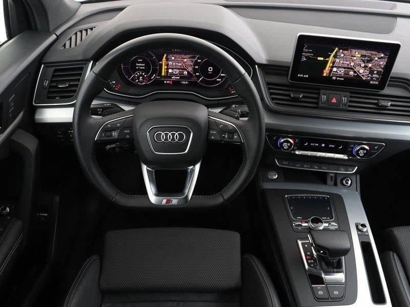 Audi Q5 50 TFSI e 299 pk quattro S edition   S-Line  Matrix LED koplampen   Assistentiepakket City/Parking   360* Camera   Trekhaak wegklapbaar   Elektrisch verstelbare/verwambare voorstoelen   Verlengde fabrieksgarantie afbeelding 3