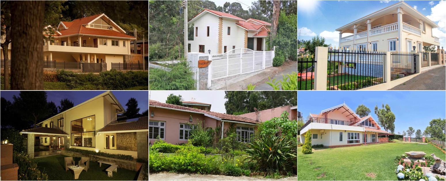 Homes, Plots & Gated Communities in Coonoor - Nilgiris