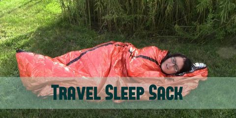 Sweet Dreams With a Travel Sheet Sleep Sack