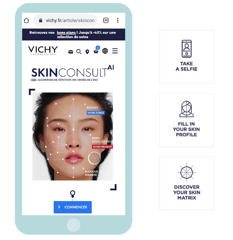 Cas client: notre réponse à la problématique de Vichy, groupe L'Oréal, pour optimiser la proposition de valeur et l'expérience utilisateur de leur nouveau service