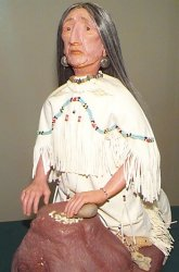 old native american woman doll