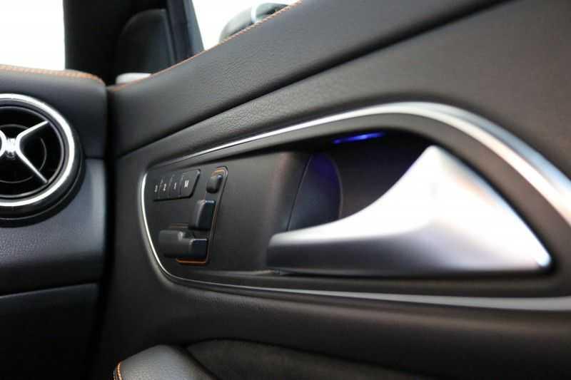 Mercedes-Benz CLA-Klasse Shooting Brake 200 OrangeArt Edition | VERKOCHT! | | Panoramadak | Memory stoelen | AMG Pakket | Night Pakket | Achteruitrijcamera | afbeelding 21
