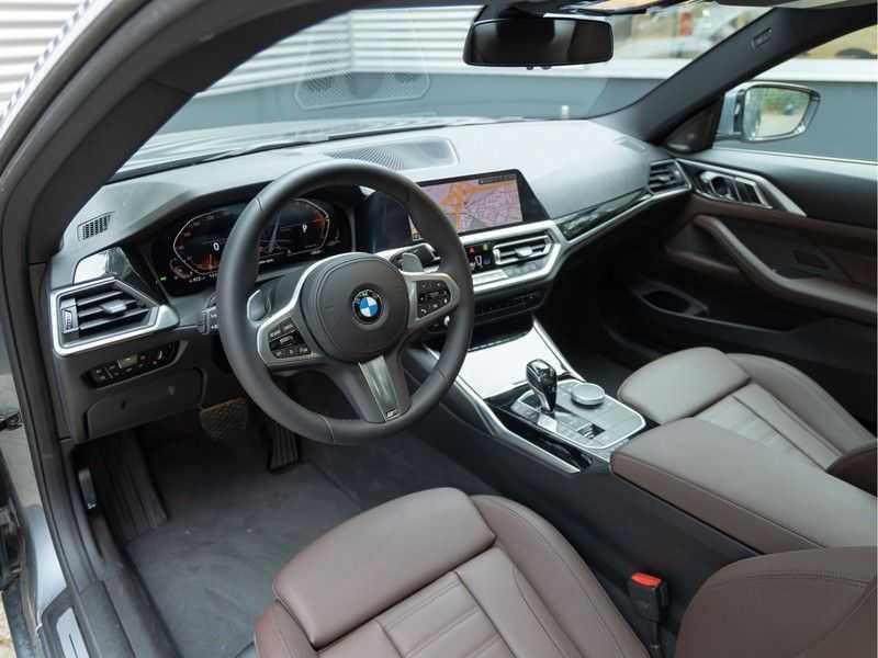 BMW 4 Serie Coupé 430i High Executive - Dak - Camera - Harman Kardon afbeelding 14
