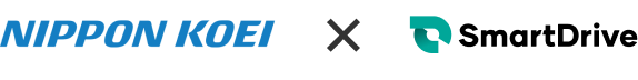 NIPPON KOEI × SmartDrive ロゴ