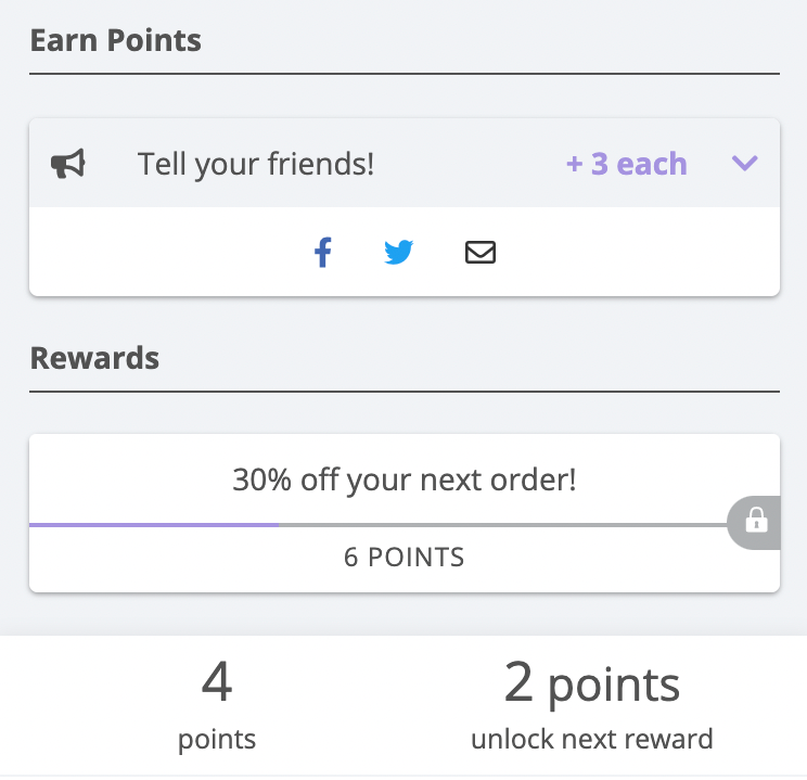 Increase sales on shopify by running a reward level campaign.