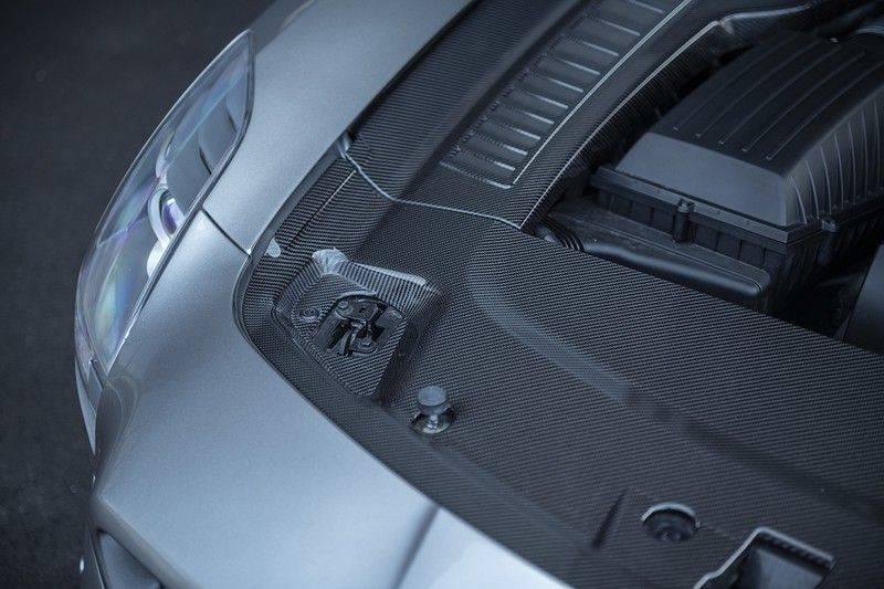 Mercedes-Benz SLS Roadster 6.3 AMG Carbon Pack + MIDDLE GRAY HIMALAYAS + Full Carbon Motor afdekking afbeelding 22