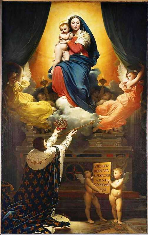 The Vow of Louis XIII (1824) by Ingres, Cathedral of Notre-Dame, Montauban