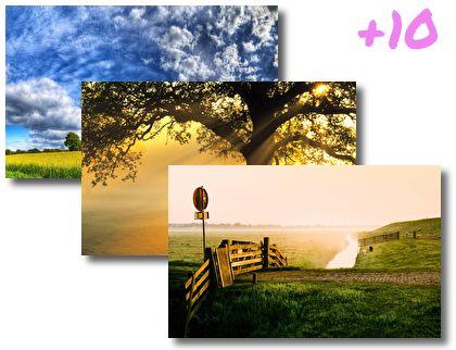 Beautiful Scenery 2 theme pack