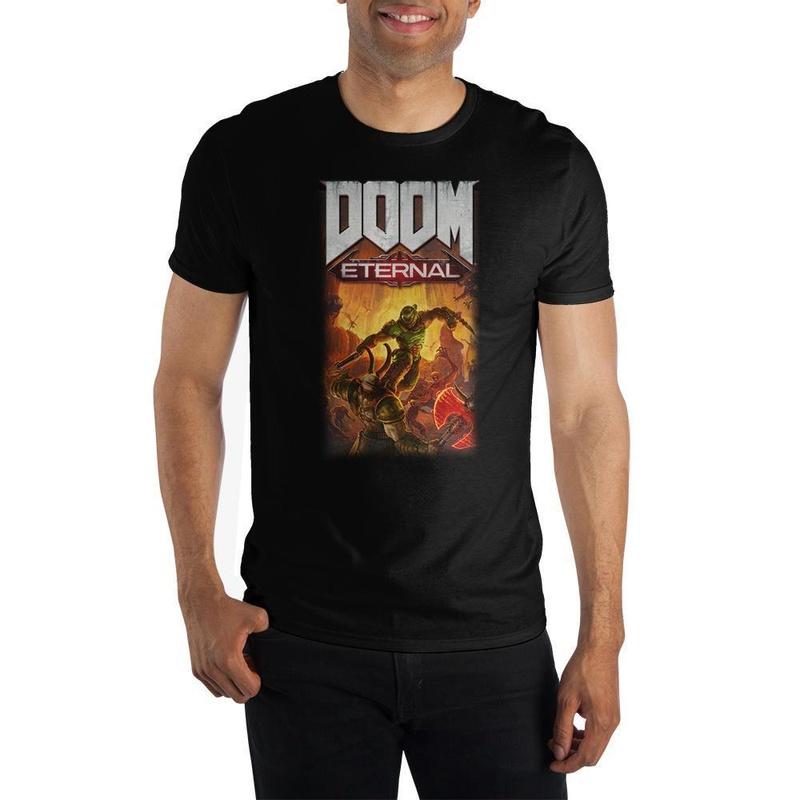 Doom Eternal Black T-shirt Wear