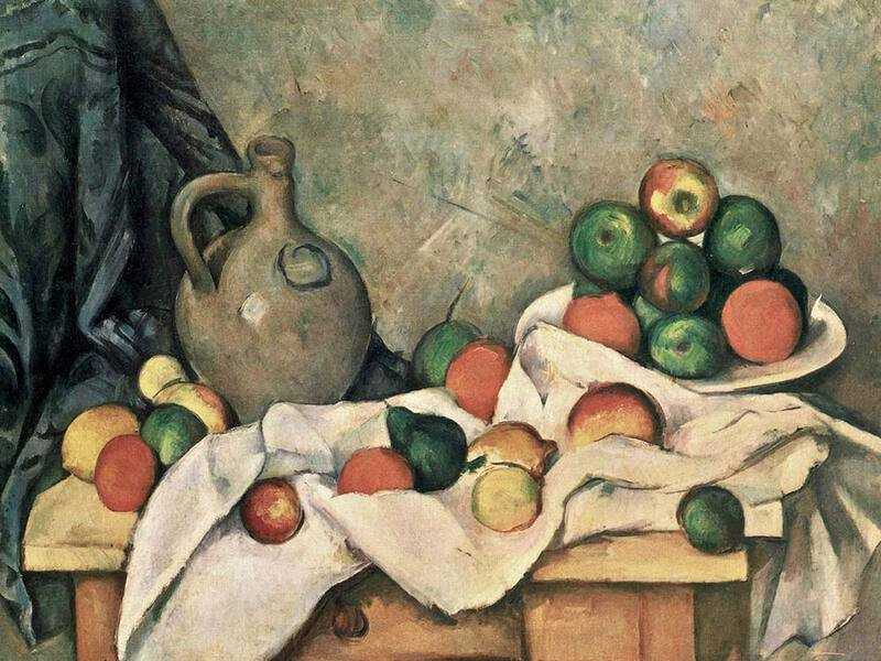 Paul Cezanne's still life entitled Rideau, Cruchon et Compotier sold for $60.5 million in 1999.