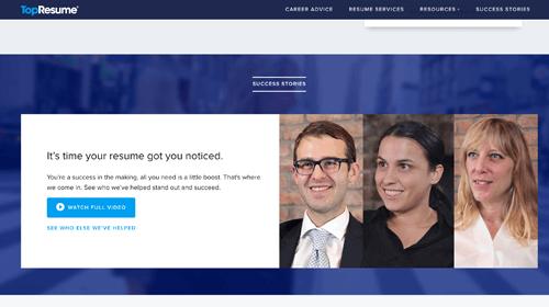 TopResume.com Resume Writing Service