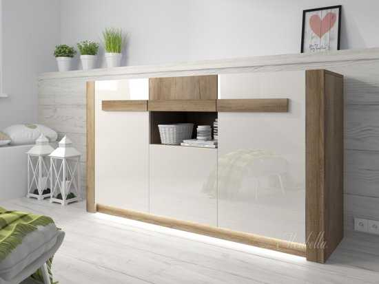 True Furniture Seven: Sfeervol Eiken Dressoir