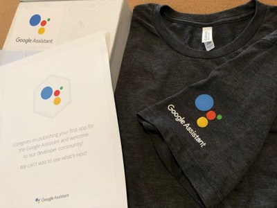 Google Assistant swag you can get