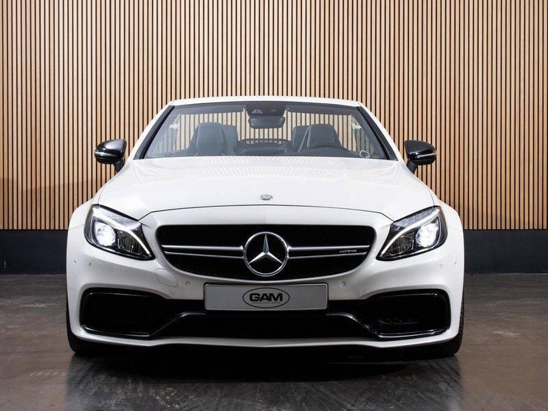 Mercedes-Benz C-Klasse C63 S AMG Cabrio AMG RIDE CONTROL, NIGHTPACK, afbeelding 12
