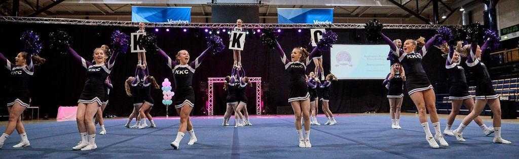 Cheerleading kuuluu nykyään Karhun lajitarjontaan