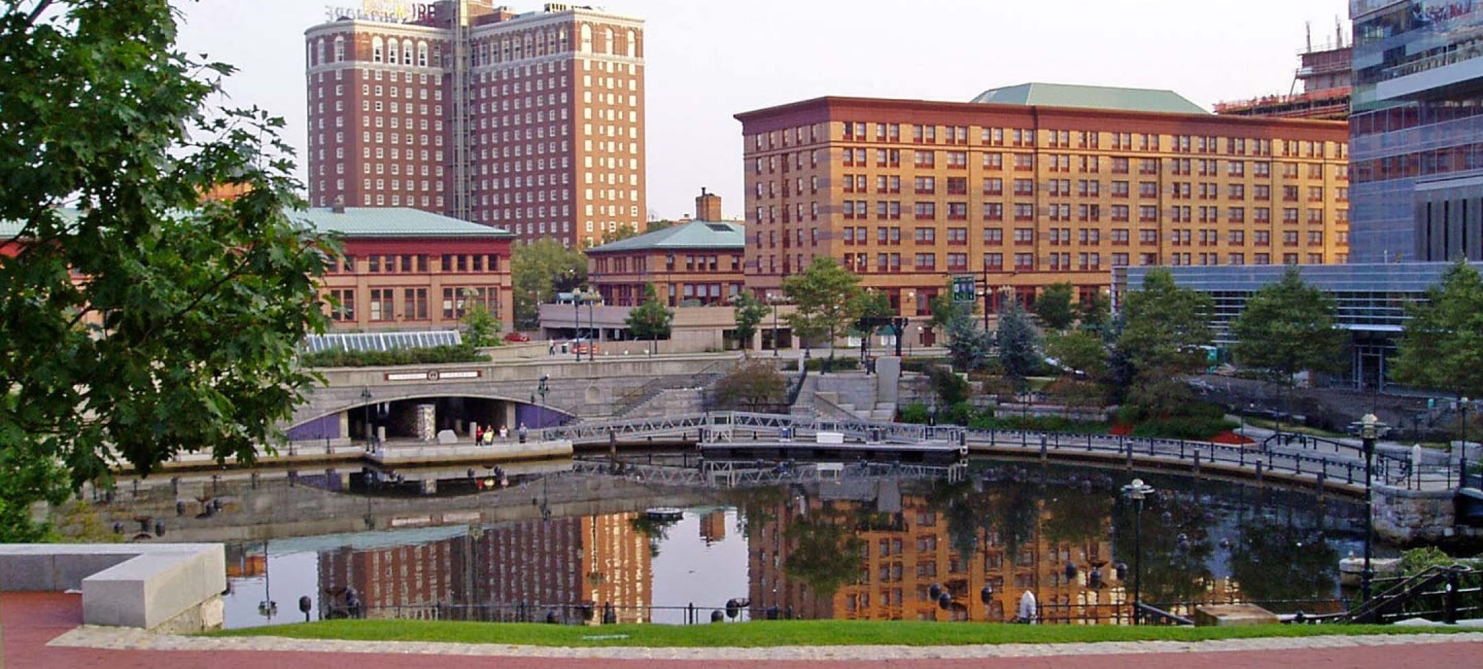 Waterplace park in Providence