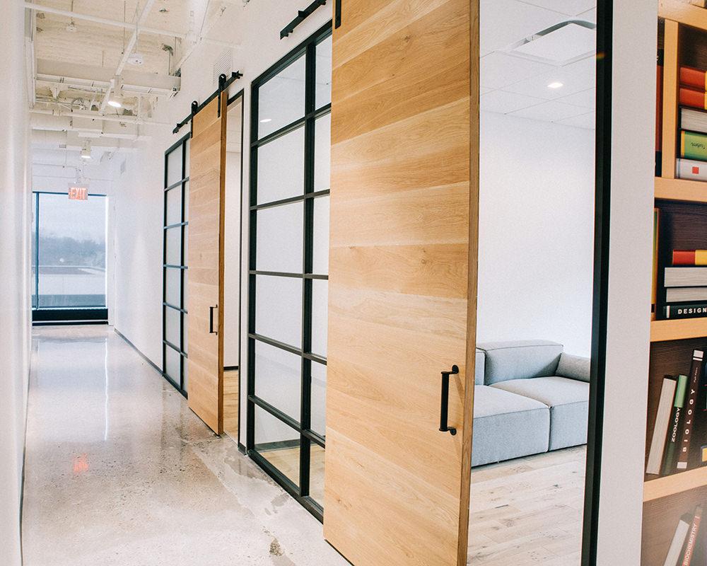 Rustic Sliding Doors and Shoji Paneling Frames, Outside shot