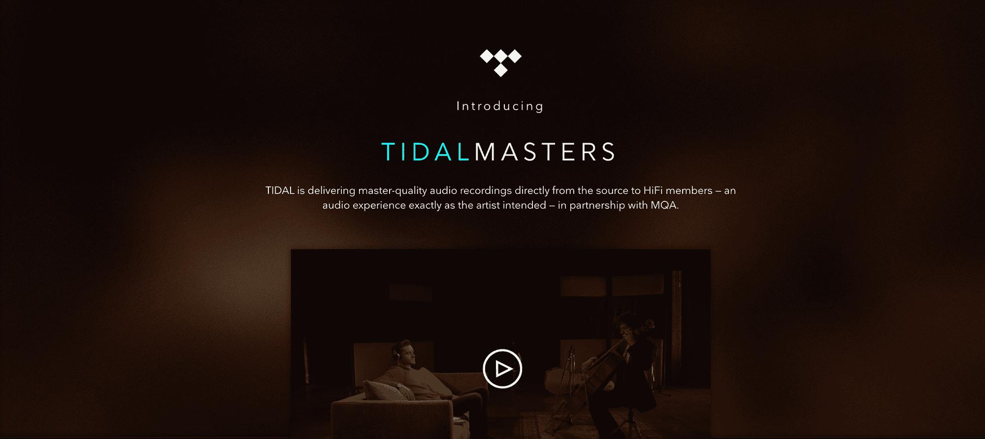 Tidal Master