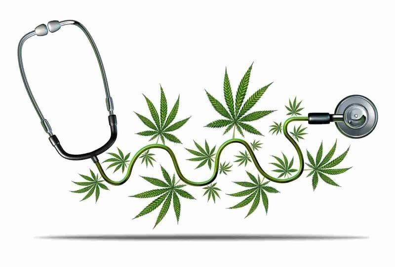Medical marijuana treating anxiety.