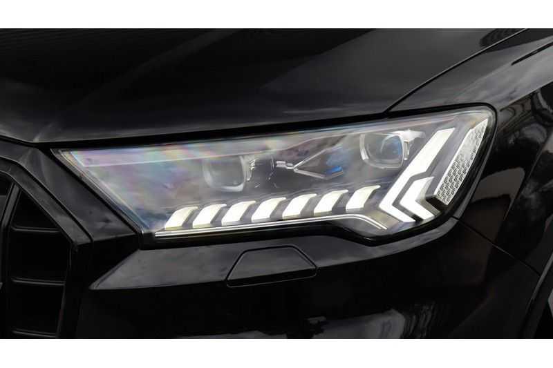 Audi SQ7 4.0 TDI 435pk quattro 7p Panoramadak, BOSE, Massage, Ruitstiksel, Trekhaak afbeelding 24