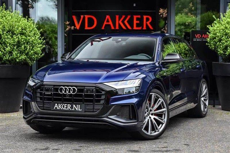 Audi Q8 55 TFSI S-LINE+23INCH+PANO.DAK+360CAM+BLACKLOOK afbeelding 1