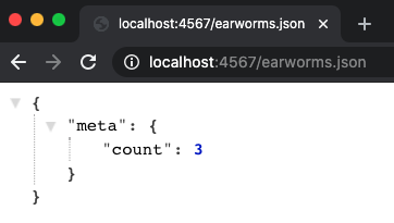 Earworms - Meta Count, Formatted Code