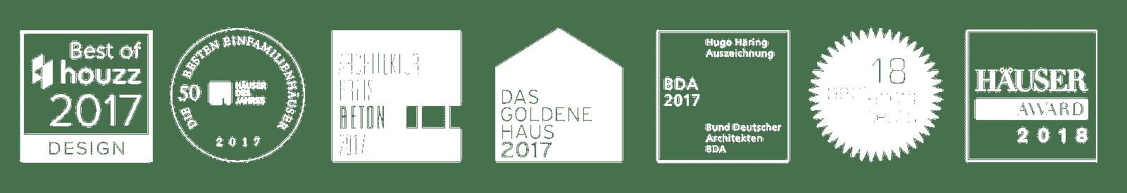 Awards Wohnhaus E20