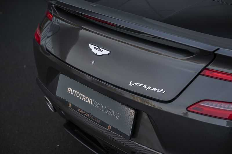 Aston Martin Vanquish Volante 6.0 V12 Touchtronic 2+2 1e eigenaar & NL Geleverd dealer onderhouden afbeelding 23
