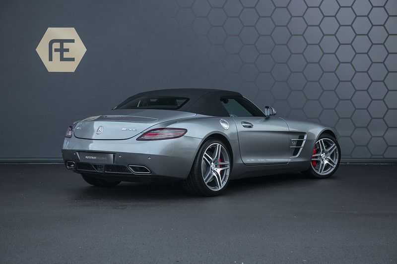 Mercedes-Benz SLS Roadster 6.3 AMG Carbon Pack + MIDDLE GRAY HIMALAYAS + Full Carbon Motor afdekking afbeelding 6