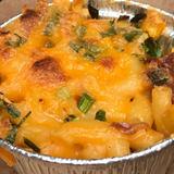 Andouille, Corn and Scallion Macaroni & Cheese