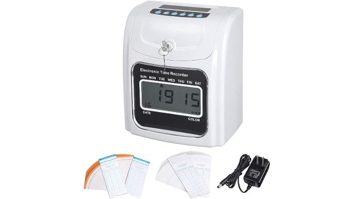Electronic Payroll Time Recorder