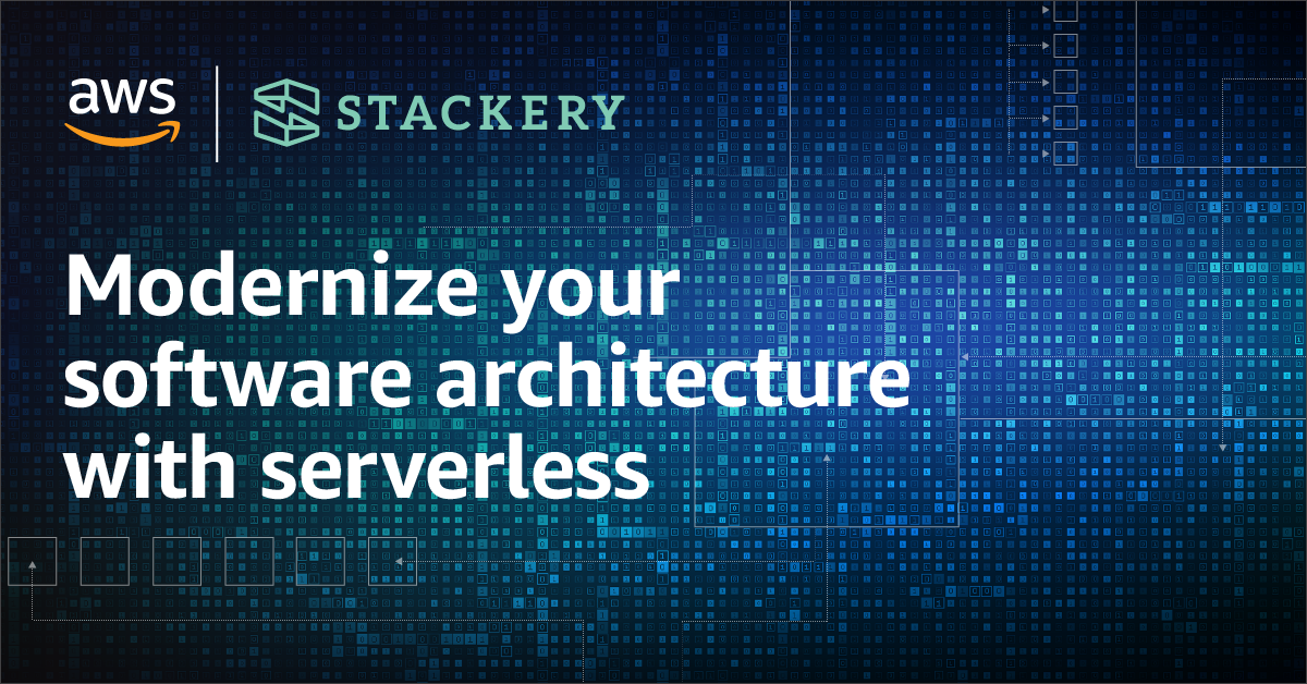 An AWS & Stackery Webinar You Won't Want to Miss