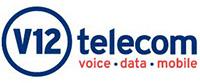 V12 Telecom Logo