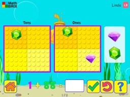 Minicomputer: Addition up to 100 (no overlaps) Math Game