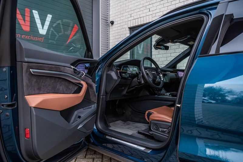 Audi e-tron 55 quattro advanced Pro Line Plus, 408 PK, 4% Bijtelling, Luchtvering, Surround View, Stad/Tour Pakket, B&O, EX. BTW!! afbeelding 12