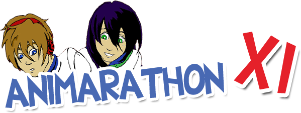 The banner for Animarathon XI.