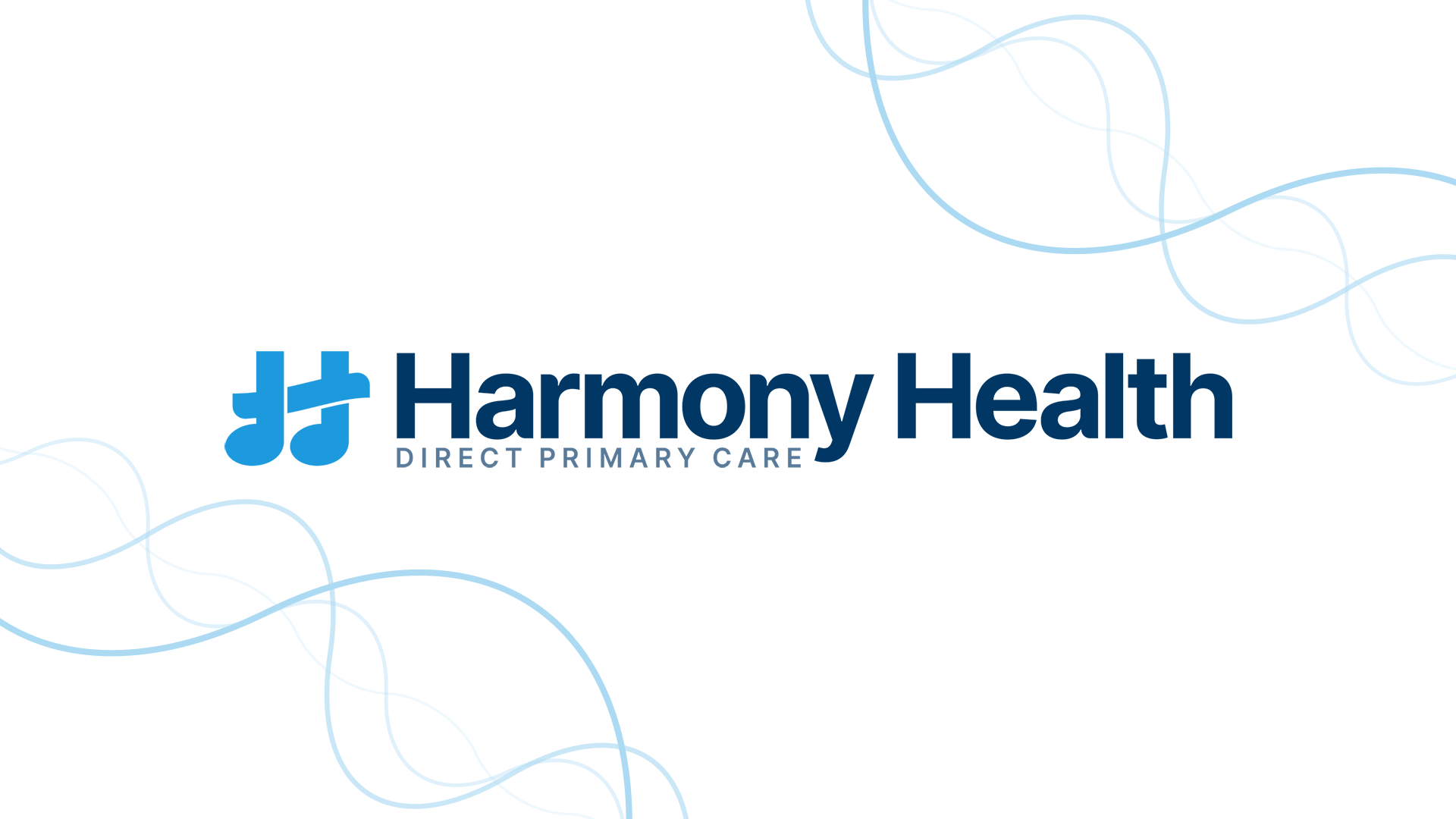 The Harmony Health logo on a white background.