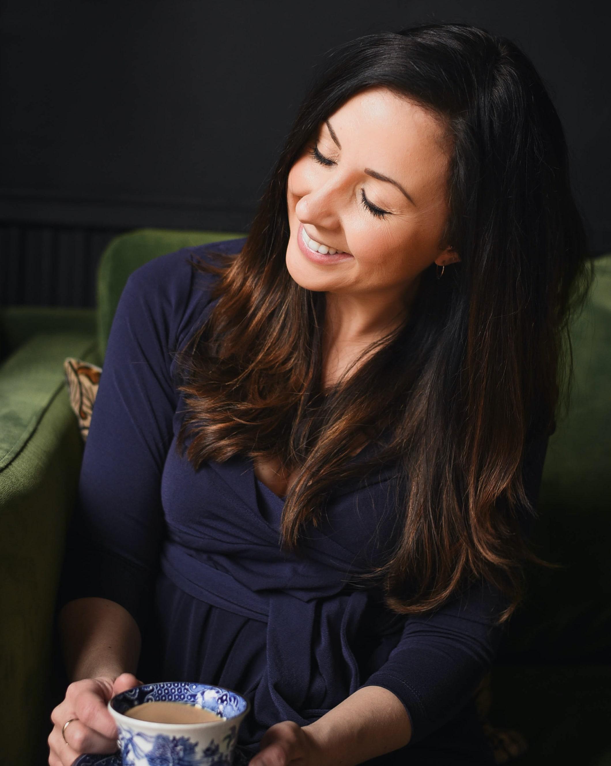 Lauren O'Sullivan, host of the Beyond the Stories podcast