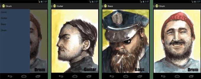 ตัวอย่างการทำ Navigation Drawer บน Android