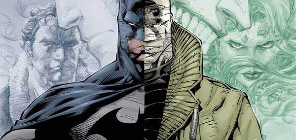 Imagem da animação Batman: Silêncio mostrando Batman e o vilão Silêncio