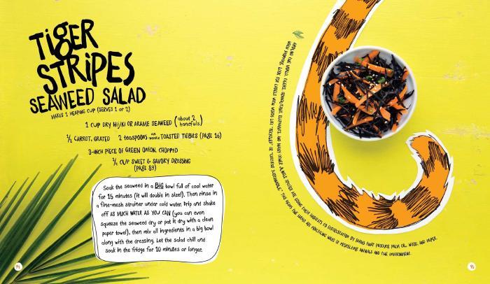Tiger Stripes Seaweed Salad