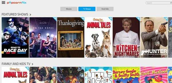 Popcornflix free movie streaming site