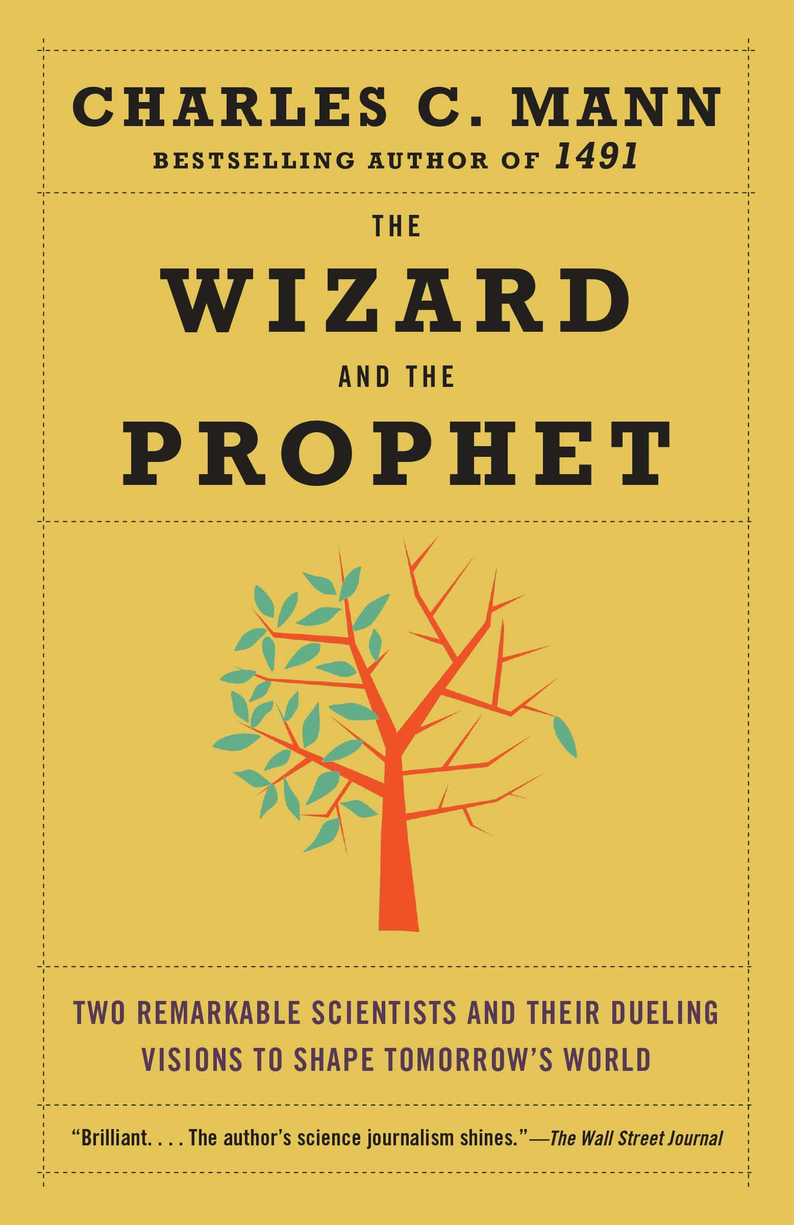 The cover of The Wizard and the Prophet